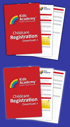 Download Our Childcare Registration Form